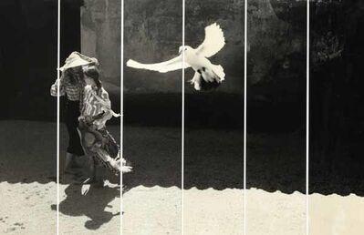 David Hamilton, 'Girls with White Dove', 1970c