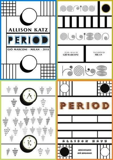 Allison Katz, 'Period', 2018