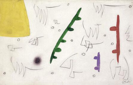 Joan Miró, 'Oiseaux dans un paysage (W7804)', 1976