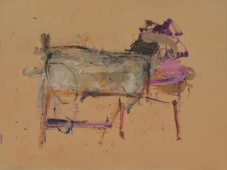 Martha Jungwirth, 'der Hund', 2020