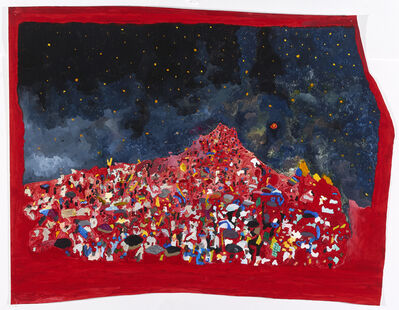 Mariana Bunimov, 'Red Landscape', 2016