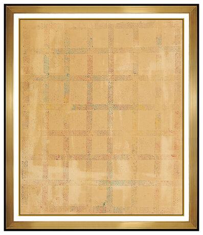 Robert Natkin, 'Robert Natkin Original Acrylic Painting Signed Abstract Color Field Framed Art', 1975