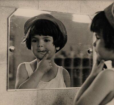 Ruth Orkin, 'Tirza in the Mirror', 1952