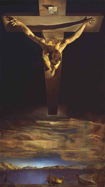 Salvador Dalí, 'Christ Of St. John Of The Cross. Certificate of Authenticity included', 1951