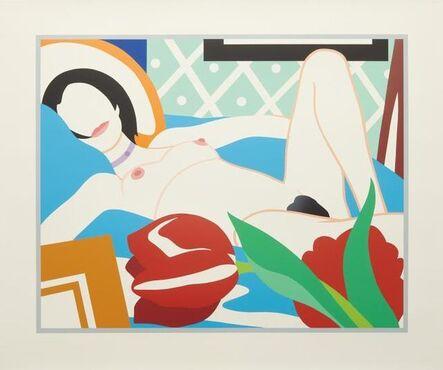 Tom Wesselmann, 'Monica With Tulips', 1989