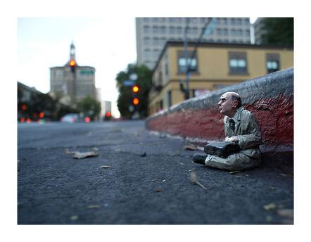 Isaac Cordal, 'Homeless. San Jose. CA EEUU', 2013