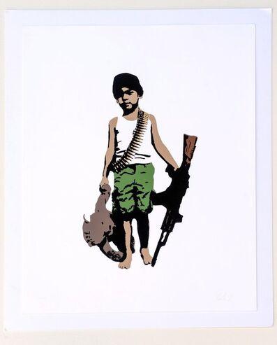 Plastic Jesus, 'War Child - Edition of 50', 2013