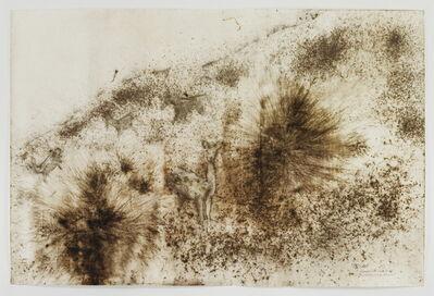 Cai Guoqiang 蔡国强, 'Deer and Pine Tree', 2012