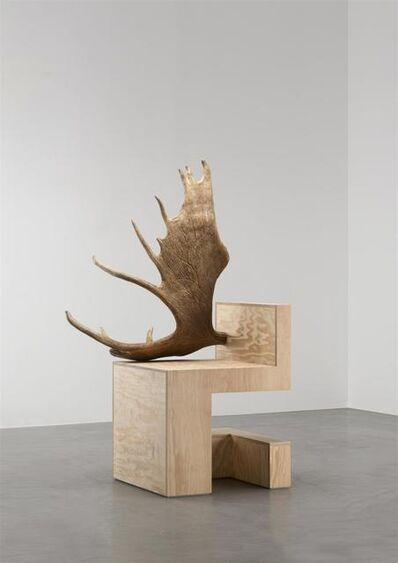Rick Owens, 'Stag Chair Left (Natural Plywood)', 2007