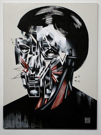 Bohdan Burenko, 'HEAD No. 1', 2016