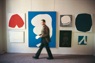 Dan Budnik, 'Ellsworth Kelly (1923 - 2015), Betty Parson's Gallery, 57th Street, New York, 1964'