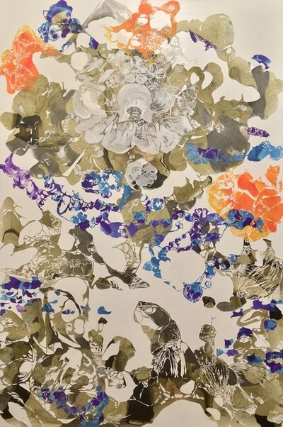 YoAhn Han, 'Myriad of floating pebbles', 2020