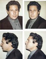 Andy Warhol, 'Julian Schnabel 4 Polaroids', 1983