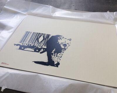 Banksy, 'Barcode (SIGNED, Pest Control COA)', 2004