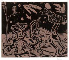 Pablo Picasso, 'Les Danseurs au Hibou (Dancers with an Owl)', 1959