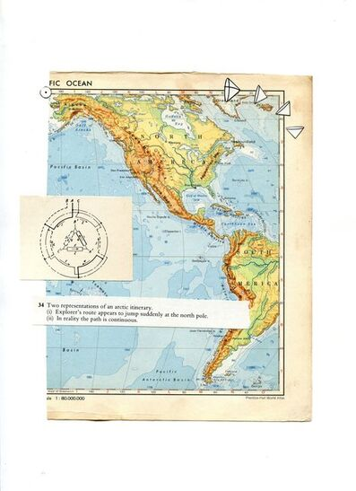 Pablo Helguera, 'Panamerican Suite: Two representations of an artic itinerary', 2007