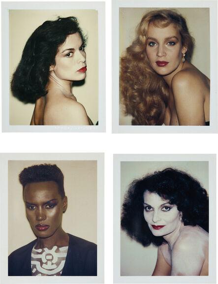 Andy Warhol, 'Bianca Jagger, Jerry Hall, Grace Jones, Diane von Fürstenberg', 1974-1984