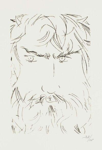 Giacomo Manzù, 'Portrait of Oedipus', 1968