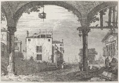 Canaletto, 'The Portico with the Lantern', ca. 1735/1746