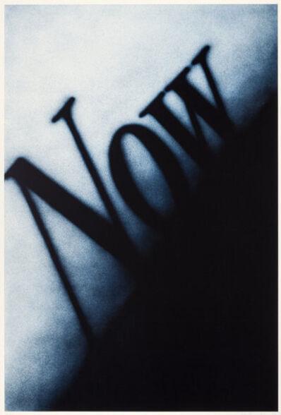 Ed Ruscha, 'Now', 1990
