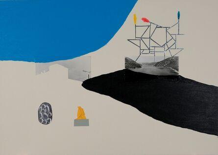 Marko Tadić, 'Black lake Silver construction', 2018