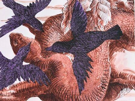 Sara Nesbitt, 'Crows and Snake', 2020