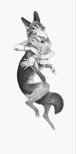 Cielle Graham, 'Self Portrait Au Coyote I'