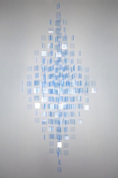 Julio Le Parc, 'Blue Mobile ', 2016