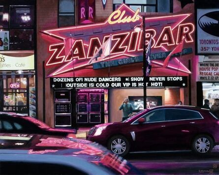 Tad Suzuki, 'Club Zanzibar, Neon Studies', 2014