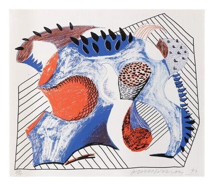 David Hockney, 'For Joel Wachs', 1993