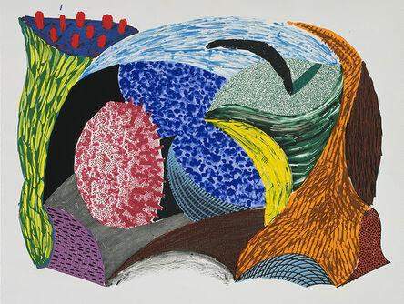 David Hockney, 'Blue Hang Cliff', 1993