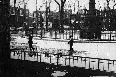 Réjean Meloche, 'Enfants dans le Parc', 1969