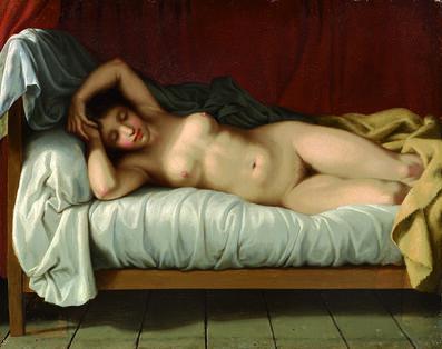 Christoffer Wilhelm Eckersberg, 'Reclining Model', 1810-1813