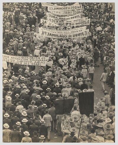 Tina Modotti, 'Labor Parade [Ejidatarios Parada, International Worker's Day, Mexico City, 1 May, 1926]', 1926