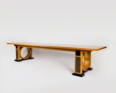 André Arbus, 'Conference table', 1956