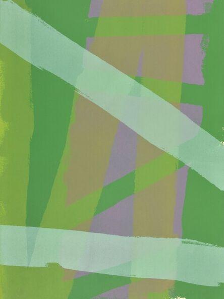 Edward Avedisian, 'Green Gold', 1969