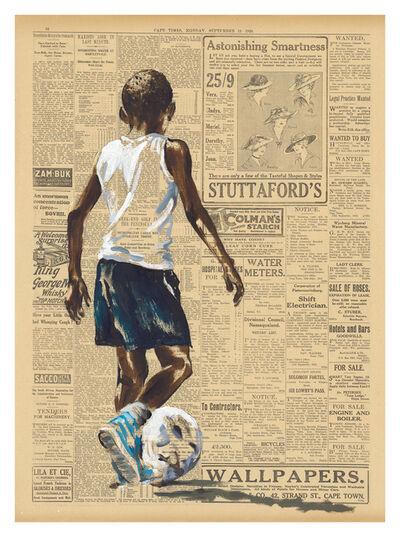 Lisette Bambine Forsyth, 'interesting soccer', 2019