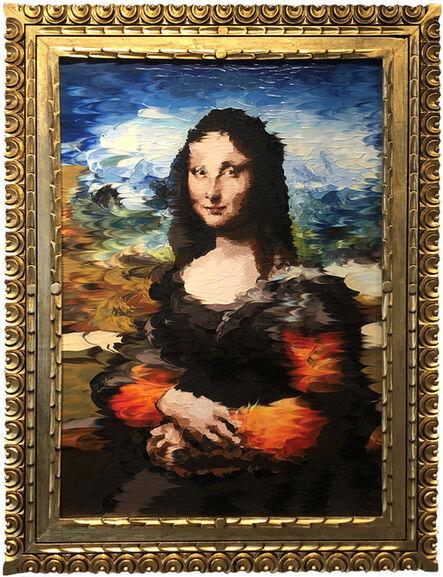 Alex Sastoque, 'Hommage to Mona Lisa', 2020