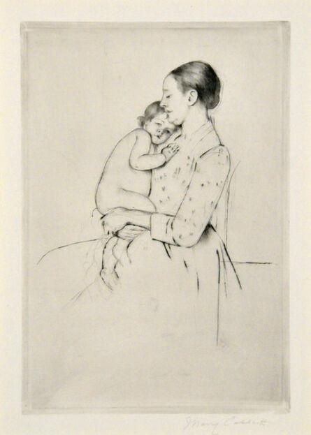 Mary Cassatt, 'Quietude.', ca. 1891