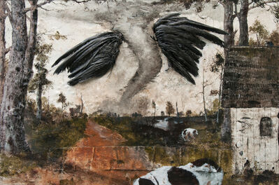 Miles Cleveland Goodwin, 'On Black Wings', 2016