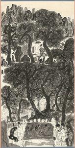Yu Peng (TAIWANESE, 1955-2014), 'The Place Where a Dashing Dragon Hides - as a Fairy', 2004