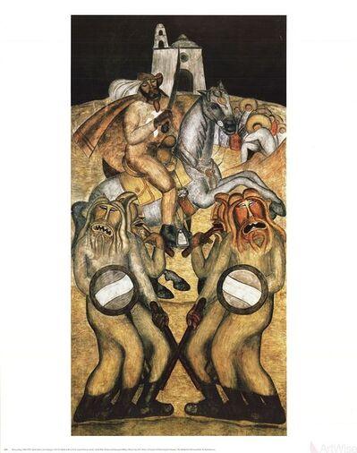 Diego Rivera, 'Battle Dance', 1995