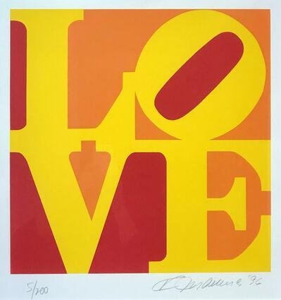 Robert Indiana, 'Book of Love (Yellow, Red, Orange)', 1996