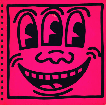 Keith Haring, 'Keith Haring cover art 1982 (Keith Haring Three Eyed face) ', 1982