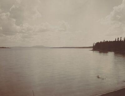F. Jay Haynes, 'Yellowstone Lake', 1880s