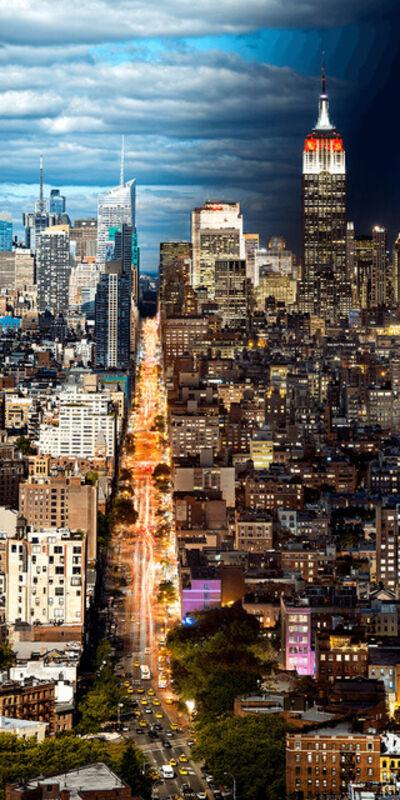 Andrew Prokos, 'Night & Day - Manhattan Cityscape #2', 2017
