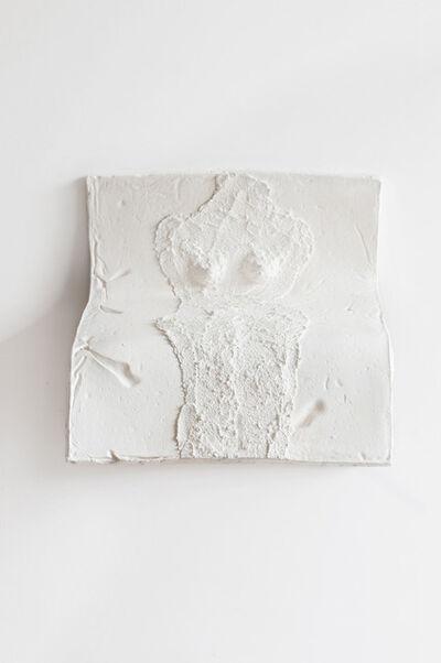 Eduardo Costa, 'Torso of a white teenage girl on a fluid plane', 2009-2010