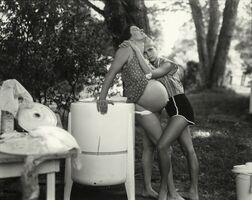 """Sally Mann, 'Untitled from the """"At Twelve"""" Series, Jenny and Leslie, 8 Months Pregnant', 1983-1985"""