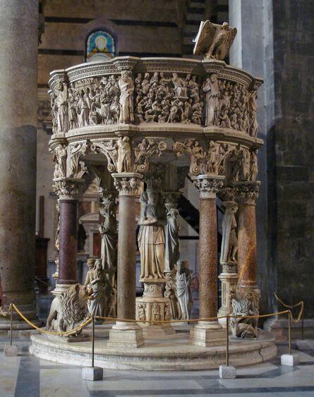 Nicola Pisano, 'Pulpit, Baptistry, Pisa', 1260