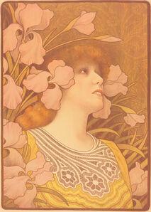 Paul Berthon, 'Sarah Bernhardt as Melisande'